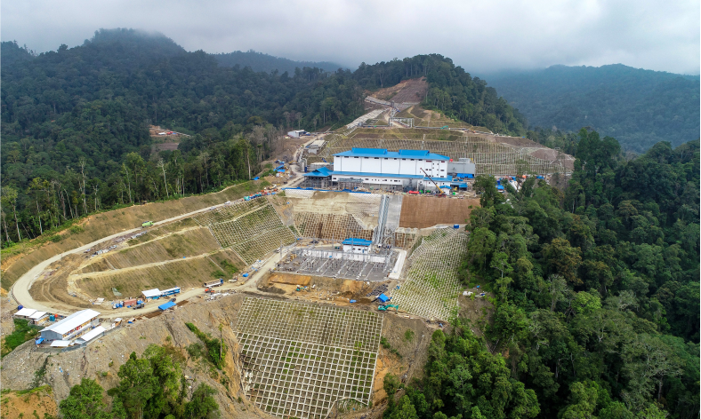 Lumut Balai geothermal power plant|PGE