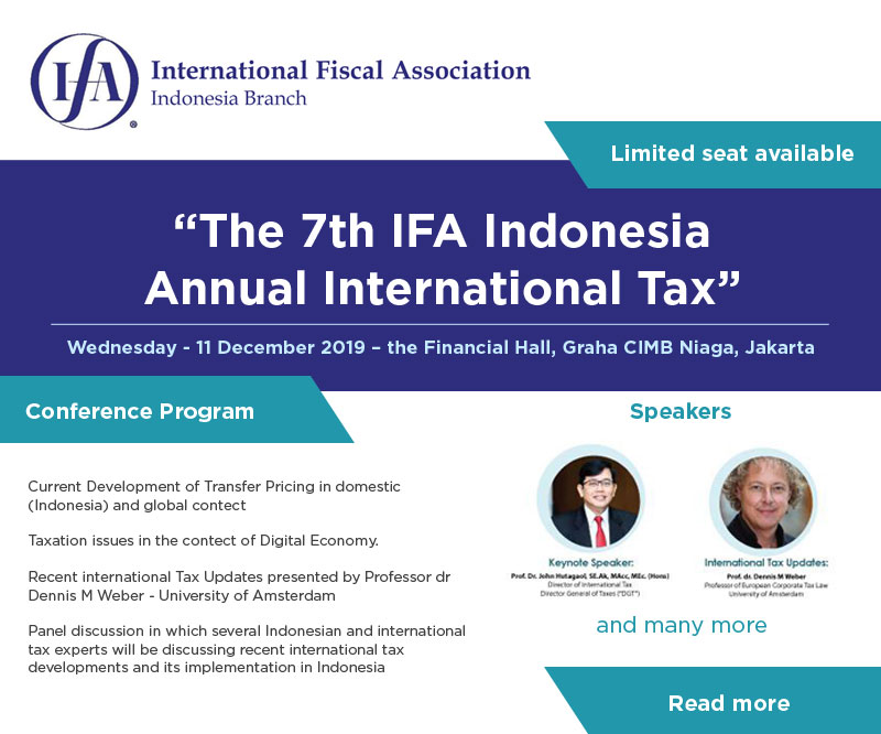 The 7th IFA Indonesia Annual International Tax