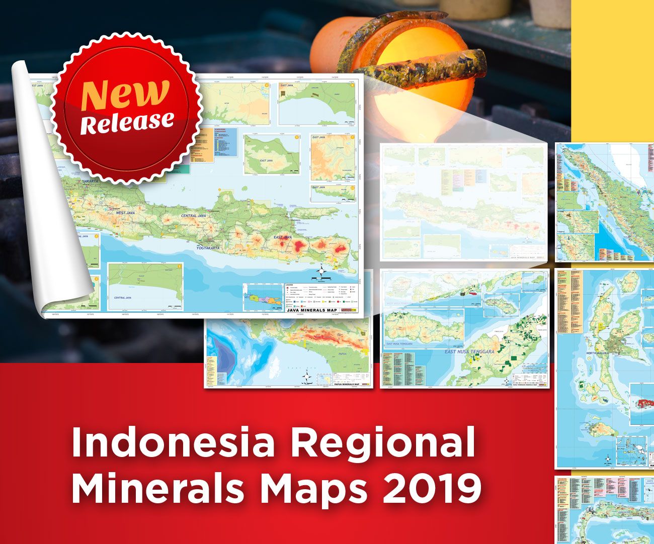 Indonesia Regional Mineral Maps 2019